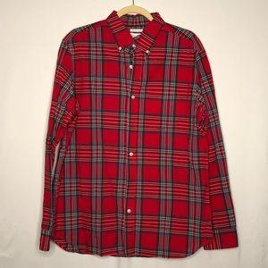 Men's Old Navy Plaid Regular Fit Button Down Shirt